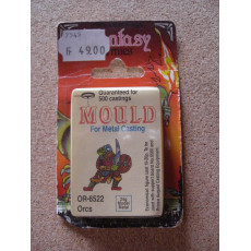 OR-6522 Orcs - Mould for Metal Casting (moule de figurines en plomb Prince August)