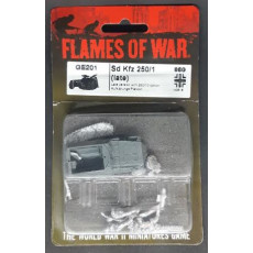 GE201 - Sd Kfz 250/1 Late (blister figurine Flames of War en VO)