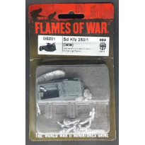 GE201 - Sd Kfz 250/1 Late (blister figurine Flames of War en VO) 001