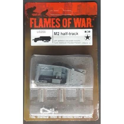 US200 - M2 Half-track (blister figurine Flames of War en VO) 001
