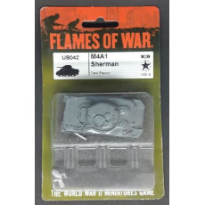 US042 - M4A1 Sherman (blister figurine Flames of War en VO)