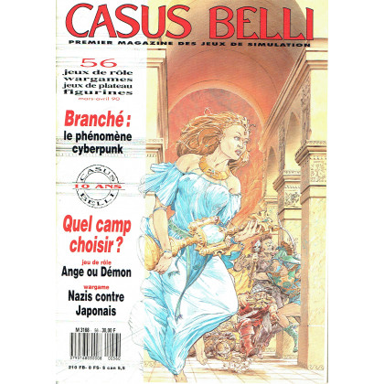 Casus Belli N° 56 (premier magazine des jeux de simulation) 010