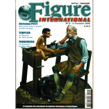 Figure International N° 2 (magazine de figurines de collection en VF) 001