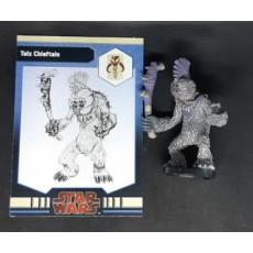 Talz Chieftain (figurine jeu Star Wars Miniatures en VO)