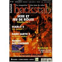 Backstab N° 21 (le magazine des jeux de rôles)