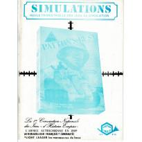 Simulations N° 15 - Revue trimestrielle des jeux de simulation (revue Cornejo wargames en VF)