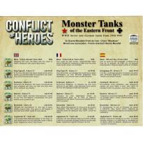 Conflict of Heroes - Monster Tanks (wargame Asyncron en VF) 001