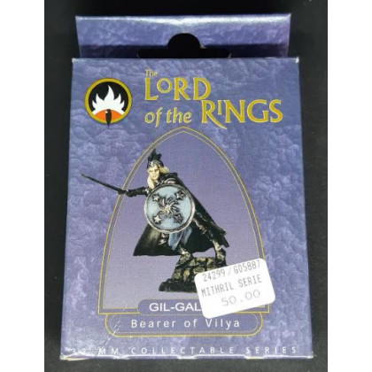 Gil-Galad - Bearer of Vilya (The Lord of the Rings 32 mm Collectable Series en VO) 001