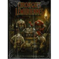 Chroniques Lémuriennes DECLASSE - Ecran, carte Lémurie et livre (jdr Barbarians of Lemuria Mythic en VF)