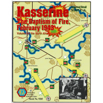 Kasserine - The Baptism of Fire, February 1943 (wargame ziplock de FGA en VO)