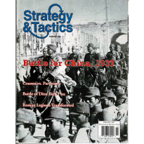 Strategy & Tactics N° 259 - Battle for China, 1937 (magazine de wargames en VO) 001