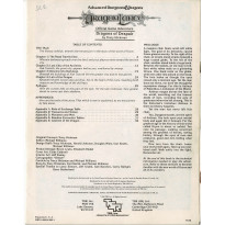 Dragonlance - DL1 Dragons of Despair (jdr AD&D 1ère édition en VO)