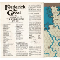 Frederick the Great - The Campaigns of the Soldier King 1756-1759 (wargame ziplock de SPI en VO)