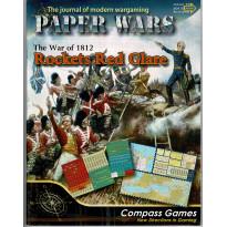 Paper Wars 78 - Wargame Rockets Red Glare 1812 (magazine de Compass Games en VO)