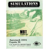 Simulations N° 17 - Revue trimestrielle des jeux de simulation (revue Cornejo wargames en VF)