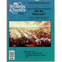 Strategy & Tactics N° 171 - On to Moscow ! (magazine de wargames en VO) 001