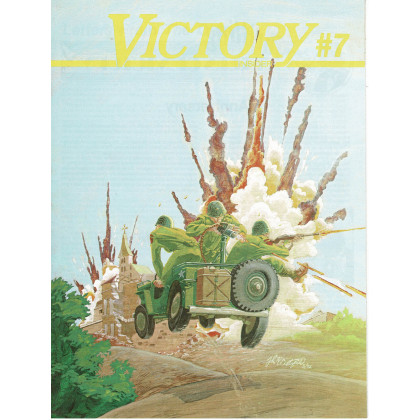 Victory Insider N° 7 (encart wargames Victory Games en VO) 001