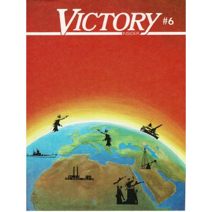 Victory Insider N° 6 (encart wargames Victory Games en VO) 001