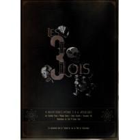 Les 3 Lois - Recueil de 4 scénarios de jeux de rôles (jdr de Way of Gamers en VF) 001