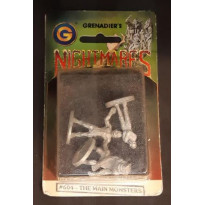 Nightmares - The Main Monsters (blister de figurines Grenadier en VO) 001