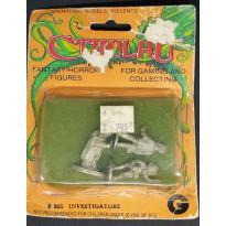 Cthulhu - Investigators (blister de figurines Grenadier en VO)