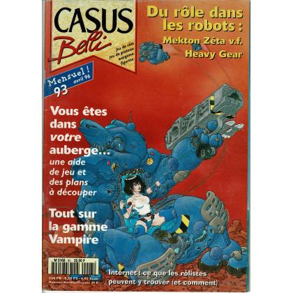 Casus Belli N° 93 (magazine de jeux de rôle) 011