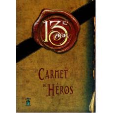 13e Age - Le Carnet du Héros (jdr éditions du 7e Cercle en VF)