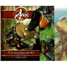 Anoë - Ecran, carte & livret (jdr Les Ludopathes en VF)