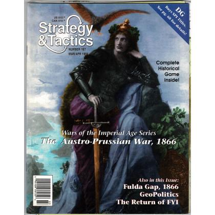 Strategy & Tactics N° 167 - The Austro-Prussian War, 1866 (magazine de wargames en VO) 001