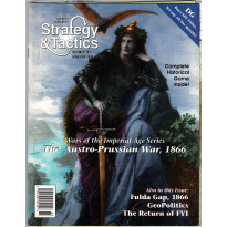 Strategy & Tactics N° 167 - The Austro-Prussian War, 1866 (magazine de wargames en VO) 001