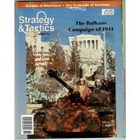 Strategy & Tactics N° 182 - The Balkans Campaign of 1941 (magazine de wargames en VO)