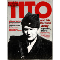 Strategy & Tactics N° 81 - Tito and his Partisan Army (magazine de wargames en VO)