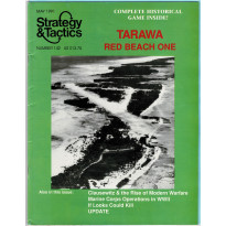 Strategy & Tactics N° 142 - Tarawa Red Beach One (magazine de wargames en VO) 001