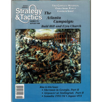 Strategy & Tactics N° 170 - The Atlanta Campaign (magazine de wargames en VO) 001