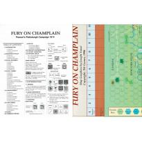 Fury on Champlain 1814 (wargame ziplock de 3W en VO)
