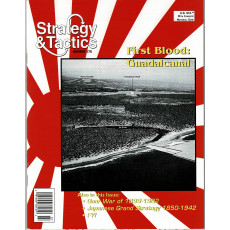 Strategy & Tactics N° 178 - First Blood: Guadalcanal (magazine de wargames en VO)