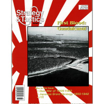 Strategy & Tactics N° 178 - First Blood: Guadalcanal (magazine de wargames en VO) 001