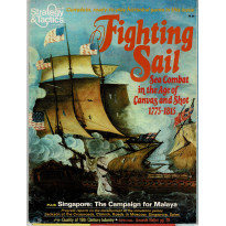 Strategy & Tactics N° 85 - Fighting Sail (magazine de wargames en VO)