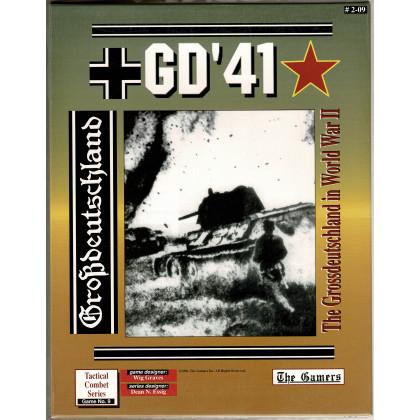GD'41 - The Grossdeutschland in World War II (wargame The Gamers en VO) 002