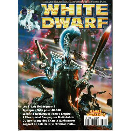 White Dwarf N° 64 (magazine de jeux de figurines Games Workshop en VF) 002