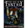 The Rise of Fantasy - How to build Fantasy Scenes (livre figurines & modélisme de Juan J. Barrena en VO) 001