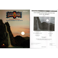 Earthdawn Second Edition - Gamemaster's Screen (jdr de Living Room Games en VO) 001