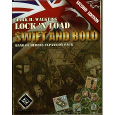 Swift and Bold V2 - Band of Heroes Expansion Pack (wargame Lock'N'Load en VO)
