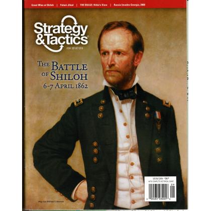 Strategy & Tactics N° 264 - The Battle of Shiloh 1862 (magazine de wargames & jeux de simulation) 001