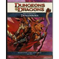 Player's Handbook Races - Dragonborn (jdr Dungeons & Dragons 4 en VO) 001