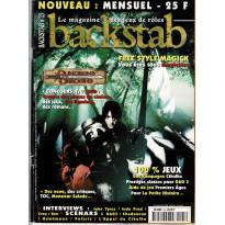 Backstab N° 25 (le magazine des jeux de rôles)