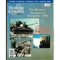 Strategy & Tactics N° 190 - The Battle of Chongchon 1950 (magazine de wargames & jeux de simulation en VO)