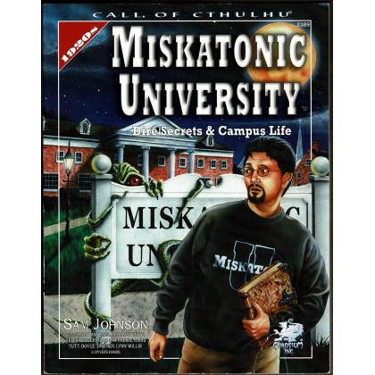 Miskatonic University (Rpg Call of Cthulhu 1920s en VO) 003
