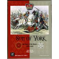Sun of York - The Wars of the Roses 1453-1485 (wargame de GMT en VO) 002
