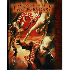 Bloodlines: The Legendary (Rpg Vampire The Requiem en VO)